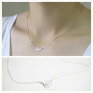 Collier feuille