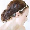 Bijoux de tête mariée romantique or
