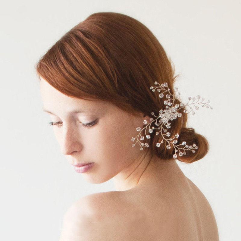 Pic à chignon mariée esprit bohême - BIJOUX FANTAISIE- Chloe Bijoux Boutique