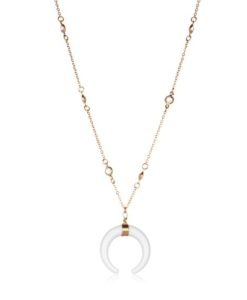 Collier corne or