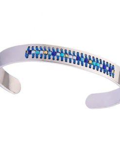 bracelet acier femme