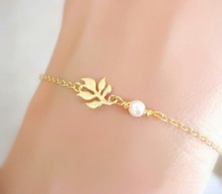 bracelet dore
