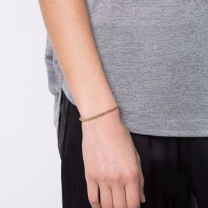 bracelet fin argent femme cordon