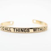 bracelet manchette doré 1