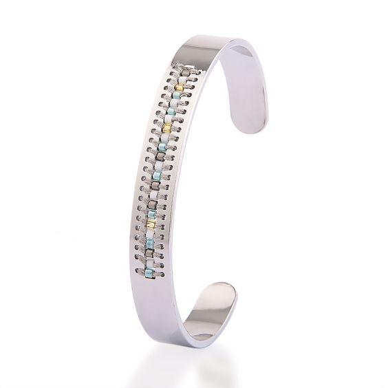 bracelet femme manchette fantaisie