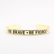 bracelet manchette or
