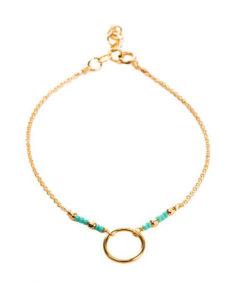 bracelet plaque or femme