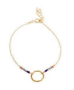 bracelet plaque or femme pas cher