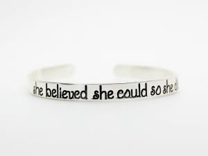 bracelet rigide argent