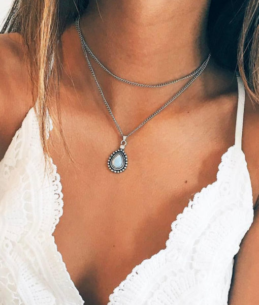 Collier boho-chic