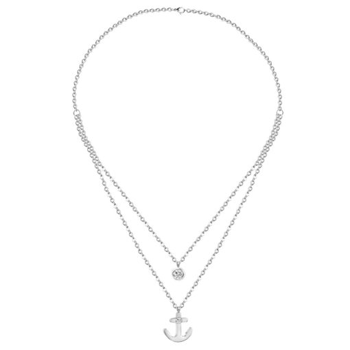 Collier femme ancre