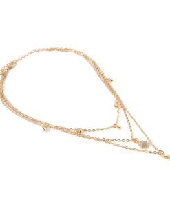 Collier fantaisie strass