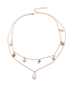 collier pierre semi precieuse