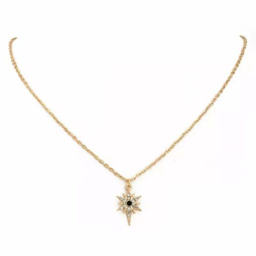 Collier etoile or