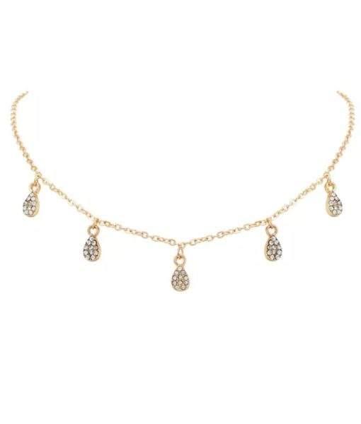 collier ras de cou or Collier tendance 2019 en métal plaqué or.