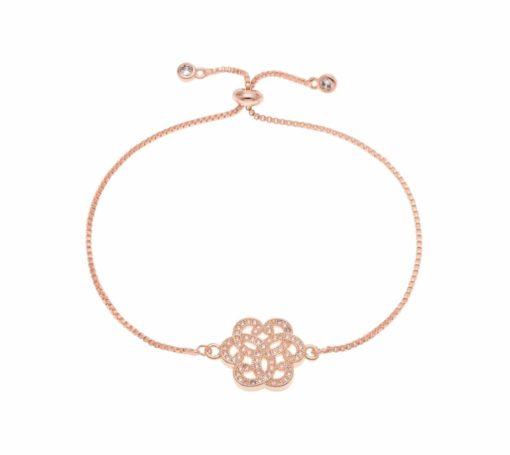 Bracelet createur fleur