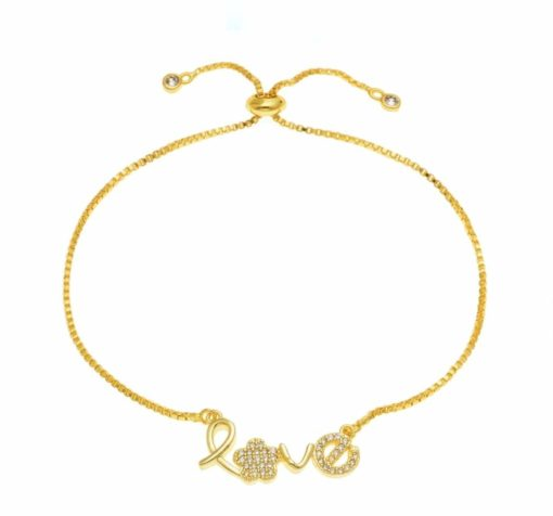 Bracelet createur love