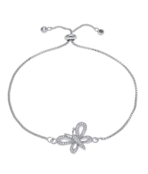 Bracelet fantaisie papillon