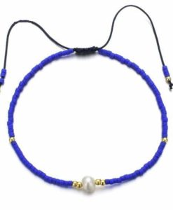 Bracelet femme bleu