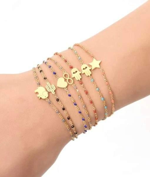 Bracelet cactus or