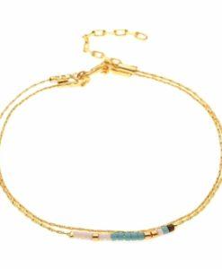 Bracelet fin multicolore