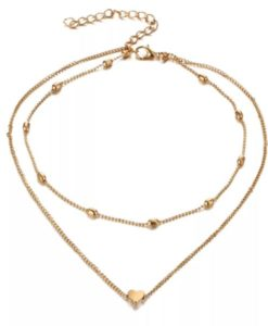 Collier deux rangs