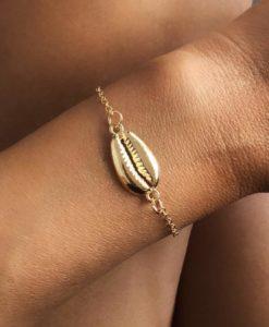 Bracelet dore tendance 2019