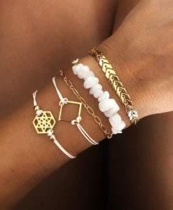Coffret combo de bracelets et Joncs