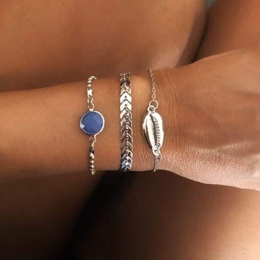 Trio de bracelets createur