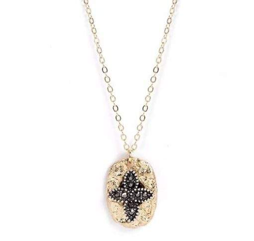 Collier medaille Lys
