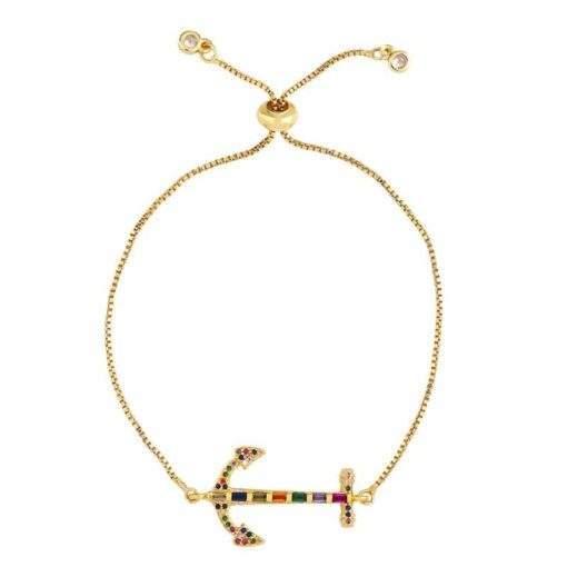 Bracelet cadeau femme- ancre