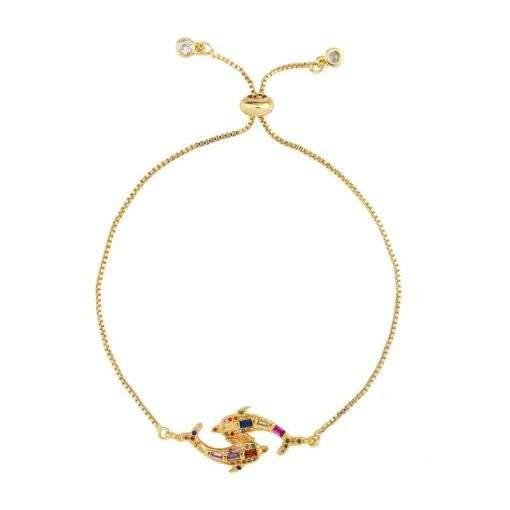 Bracelet cadeau femme- dauphin
