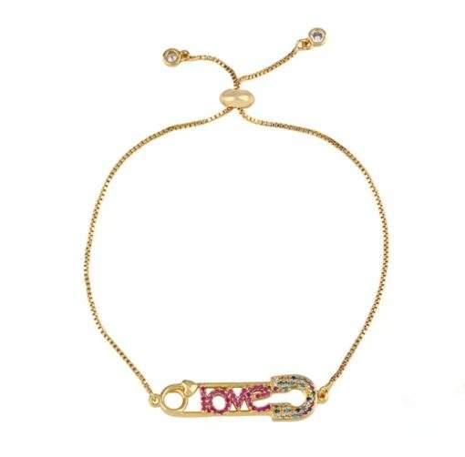 Bracelet cadeau femme- epingle