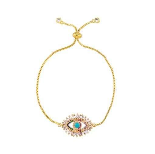 Bracelet cadeau femme- oeil