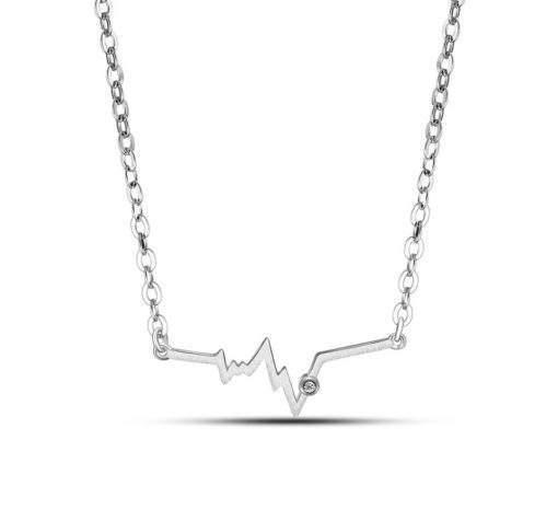 Collier minimaliste oxyde de zirconium