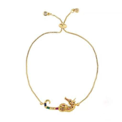 bracelet cadeau femme-hippocampe